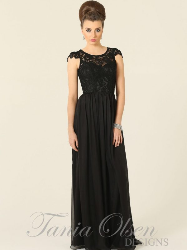 Latitia Bridesmaid Dress Black - Sentani Boutique Bridal, Formal And Evening Dresses Fashion Store