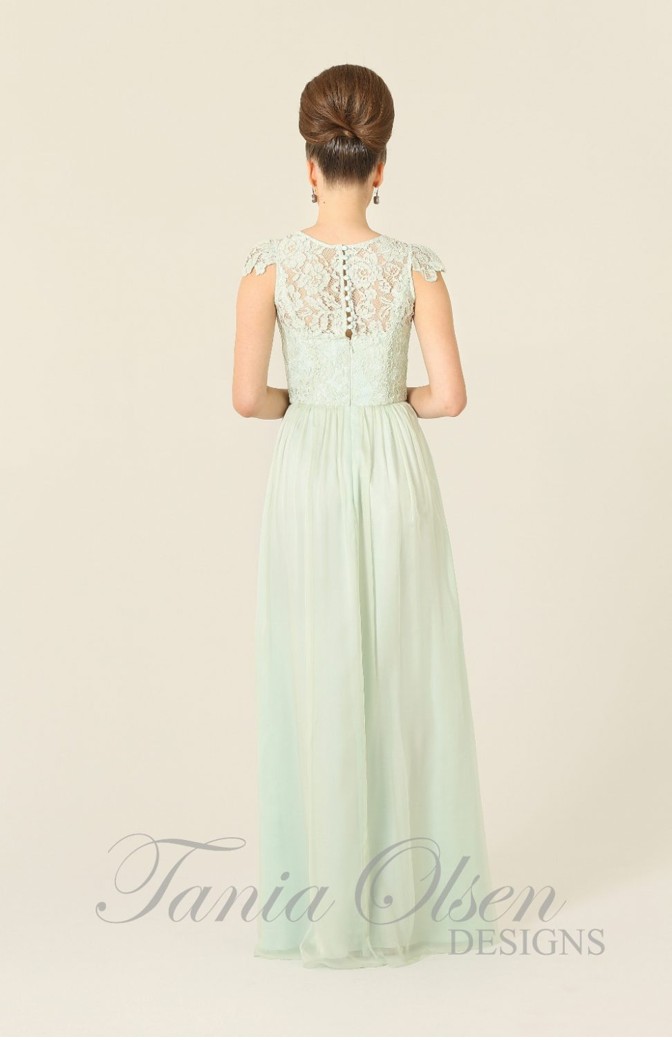 Latitia Bridesmaid Dress Mint