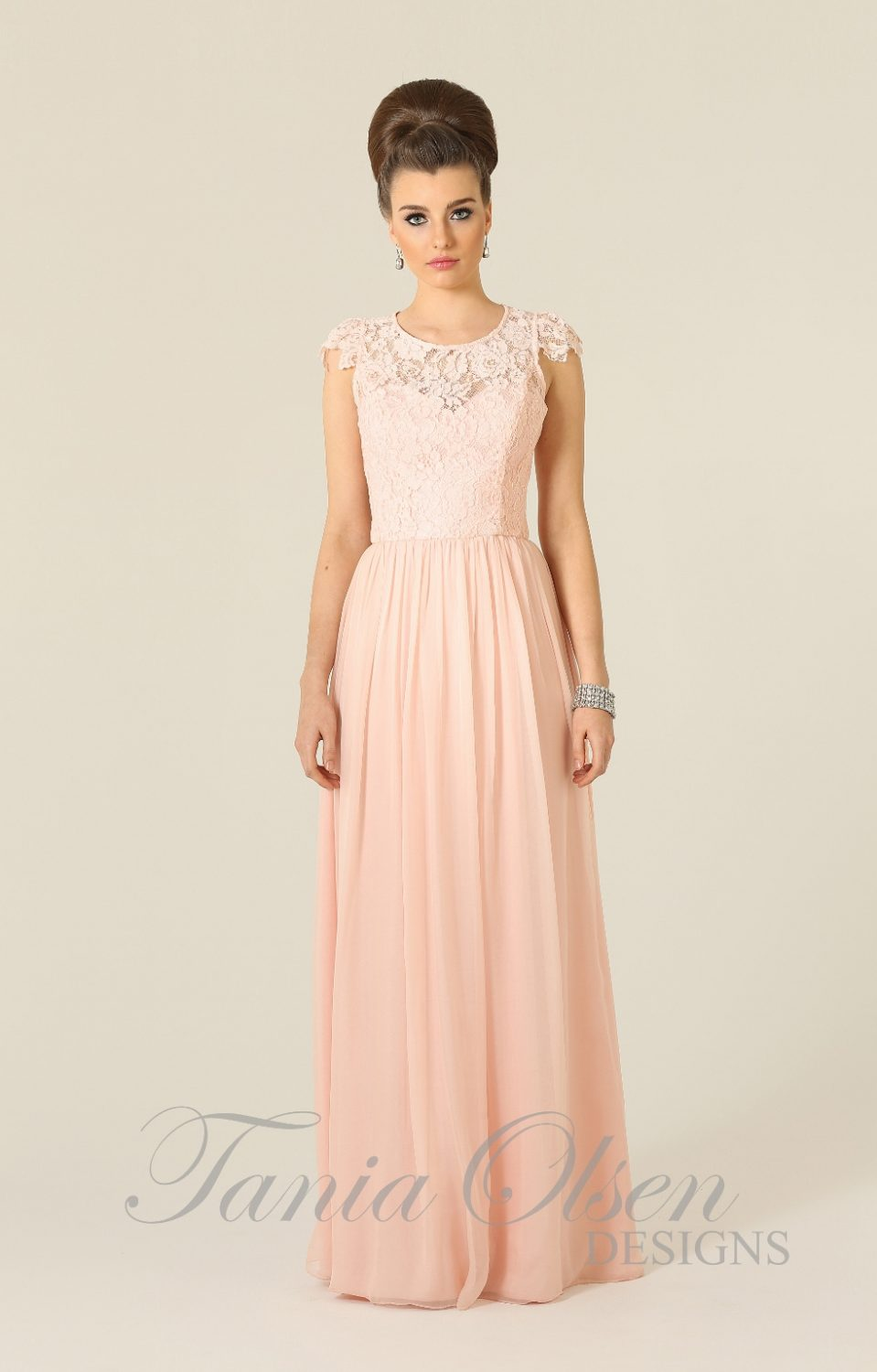 Latitia Bridesmaid Dress Pink