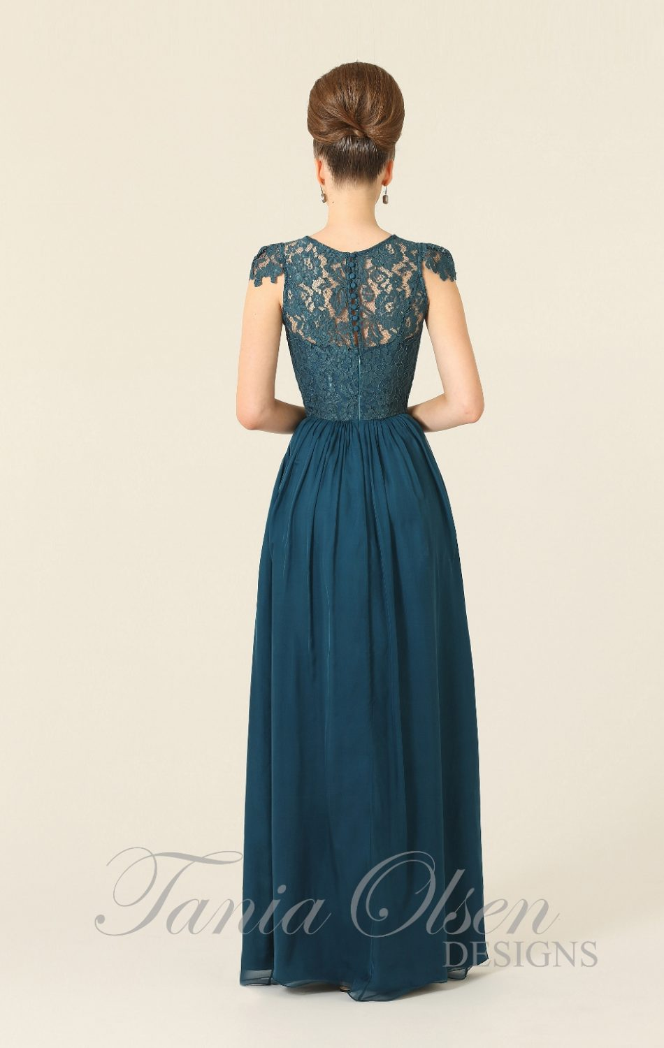 Latitia Bridesmaid Dress Teal
