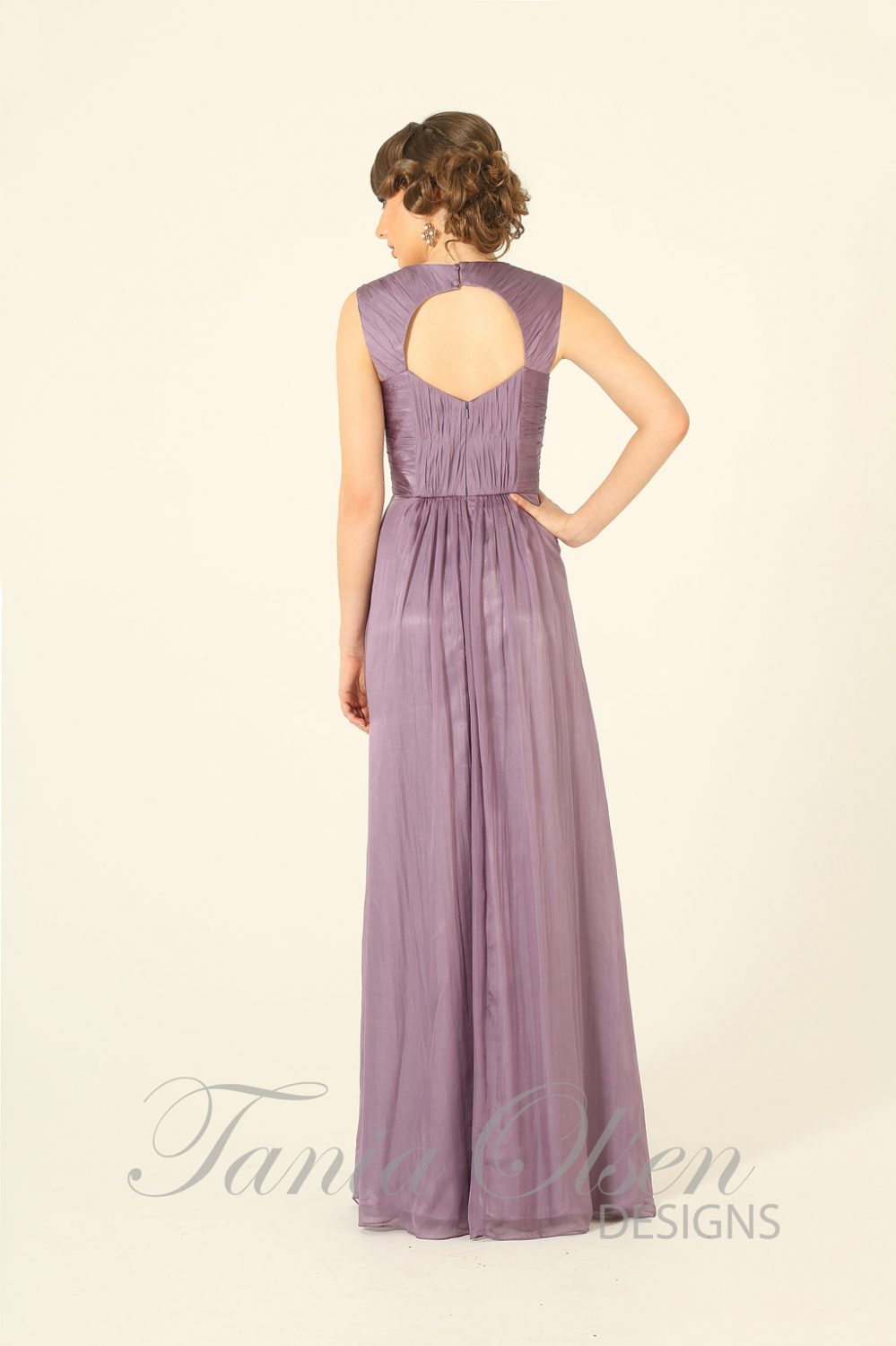 Yasmine Bridesmaid Dress Lavender
