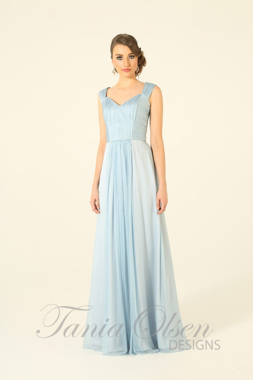 Yasmine Bridesmaid Dress Baby Blue