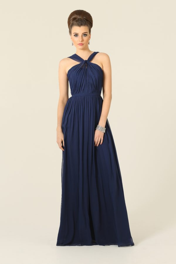 Adele Bridesmaid Dress Navy