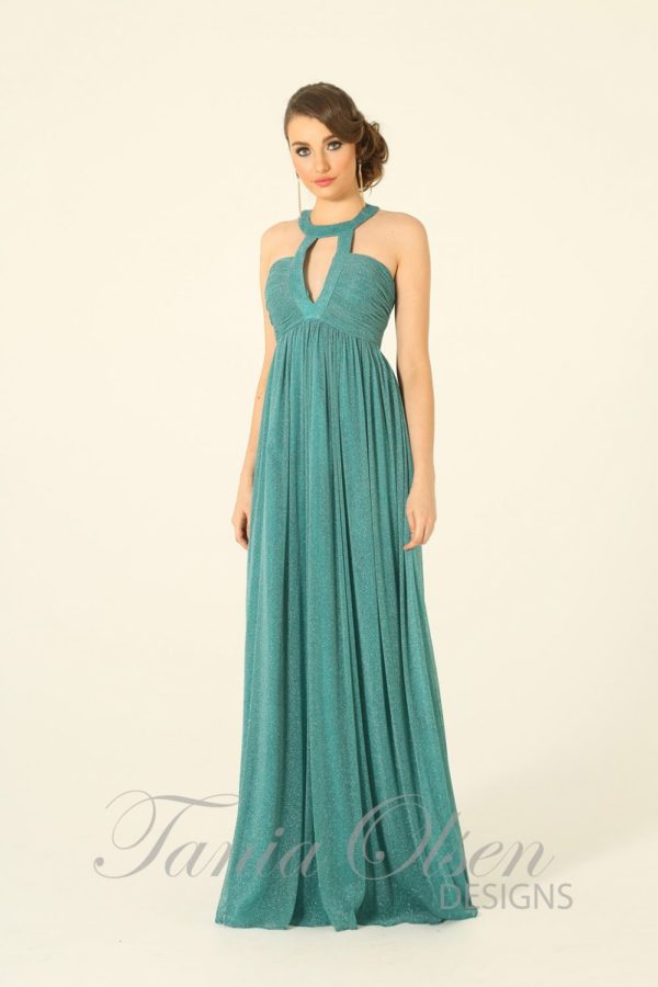 Adriano Peacock Evening Dress - Sentani Boutique Bridal, Formal And Evening Dresses Fashion Store