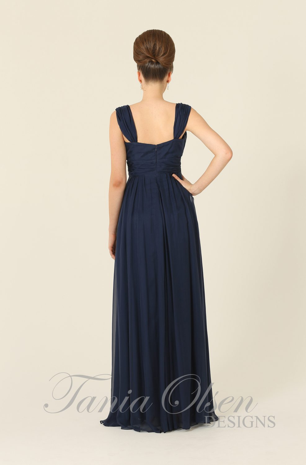 Silk Dreams Bridesmaid Dress Navy