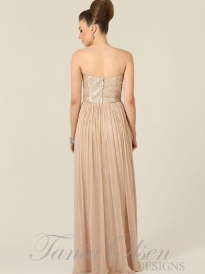 Azaria Rose Sequin Bridesmaid Dress