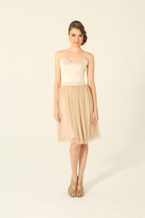 Milly Beige Cocktail Dress