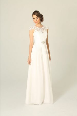 Latitia Wedding Dress White - Sentani Boutique Bridal, Formal And Evening Dresses Fashion Store