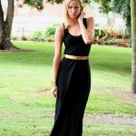 black crochet back maxi dress - Sentani Boutique Bridal, Formal And Evening Dresses Fashion Store