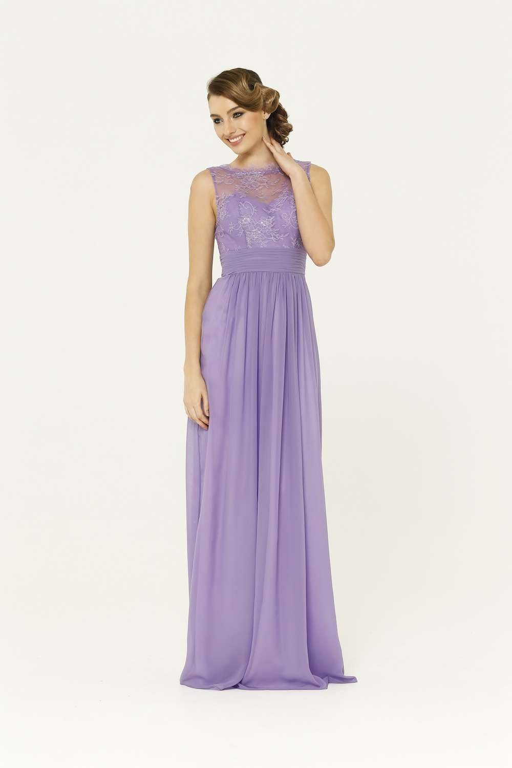 Charlotte Lavender Bridesmaid Dress