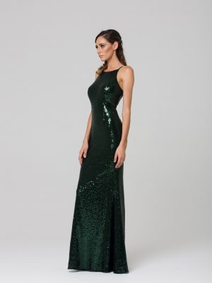 Sadie sequin formal dress side PO70S