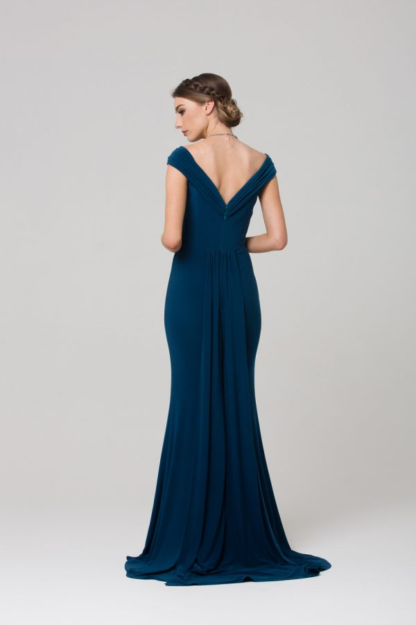 Malissa bridesmaids dress back