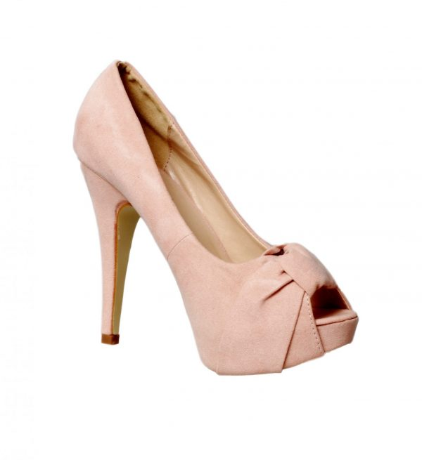 Pink Suede heels - Sentani Boutique Bridal, Formal And Evening Dresses Fashion Store