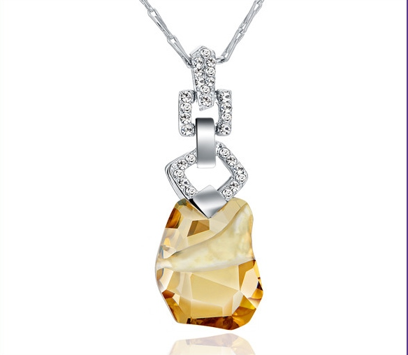 Amber pendant necklace - Sentani Boutique Bridal, Formal And Evening Dresses Fashion Store