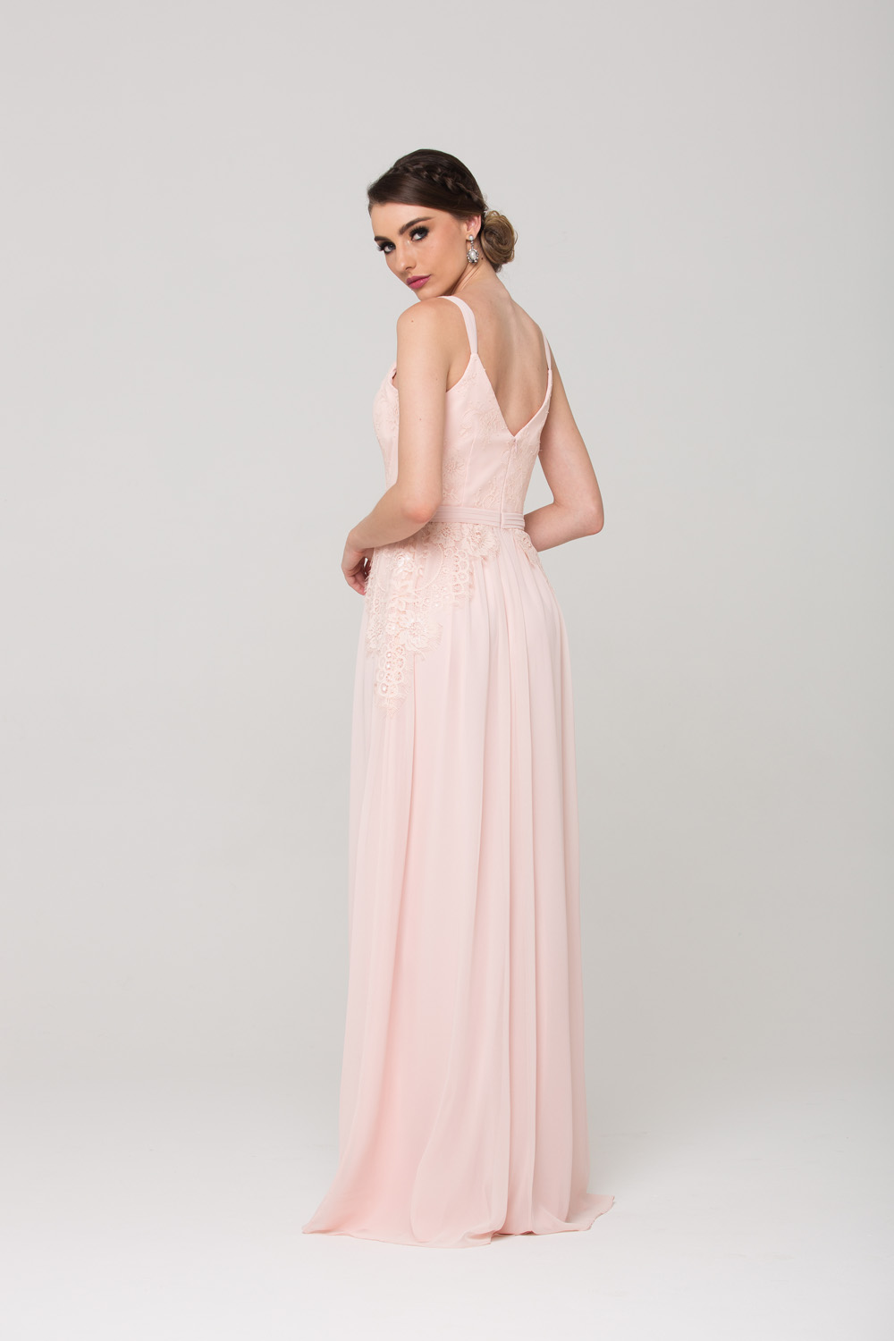 Anais Bridesmaid Dress back