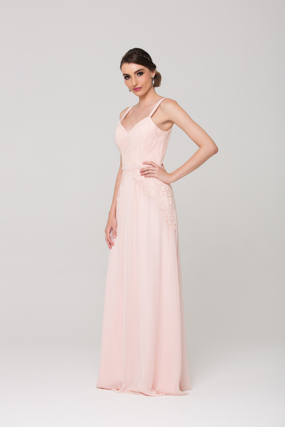 Anais Bridesmaid Dress side