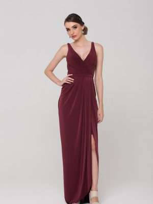 Bianca Soft Drape Evening Dress