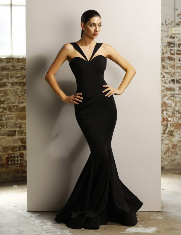 Franki sweetheart fitted formal dress