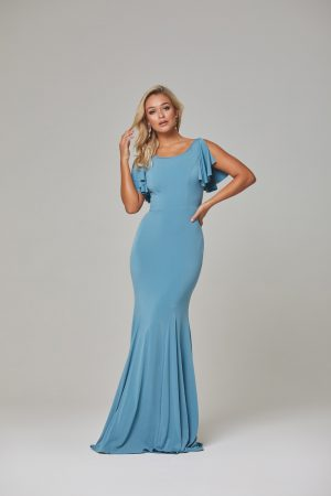 Libby Bridesmaid Dress-Seafoam