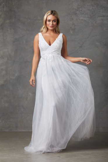 Liv Wedding Dress-Purewhite