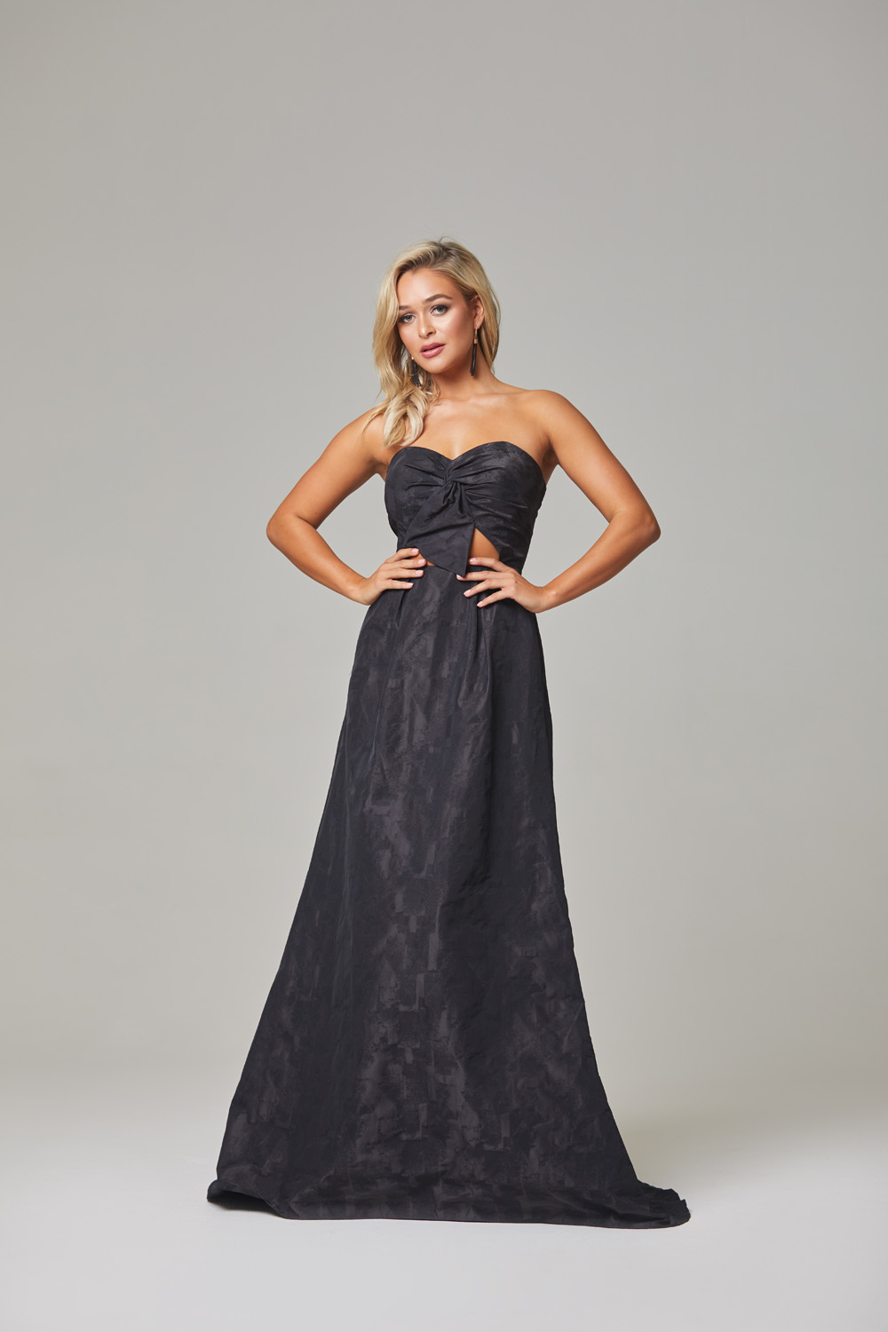 Micha Evening Dress-Black