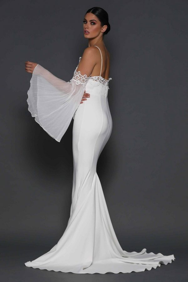 Miranda wedding dress back