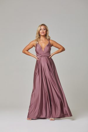 Petra Bridesmaid Dress-Tearose