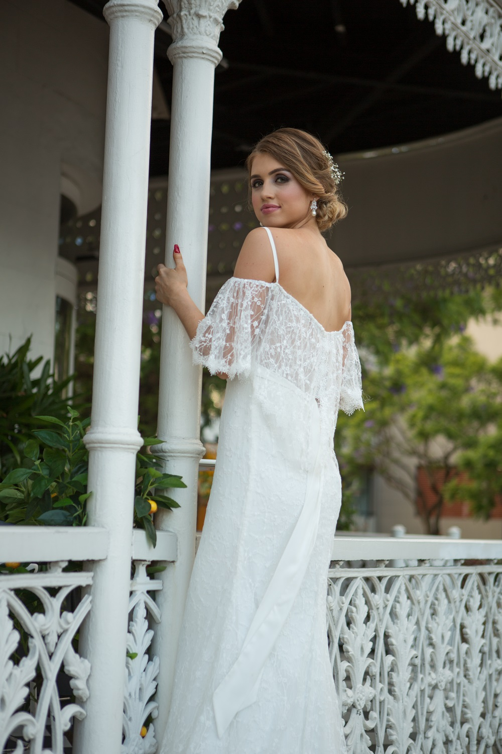 Maisie bohemian wedding dress
