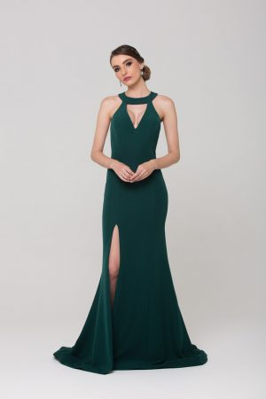 Taylor low back formal dress