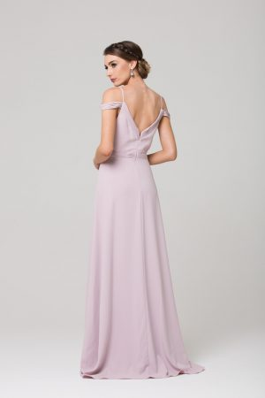 Natasha boho bridesmaids dress back