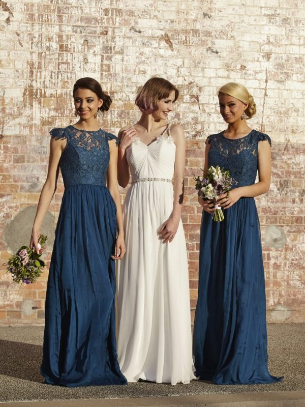 Latitia Bridesmaid Dress Teal - Sentani Boutique Bridal, Formal And Evening Dresses Fashion Store