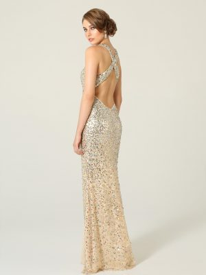 Elena Formal Dress with Diamantes