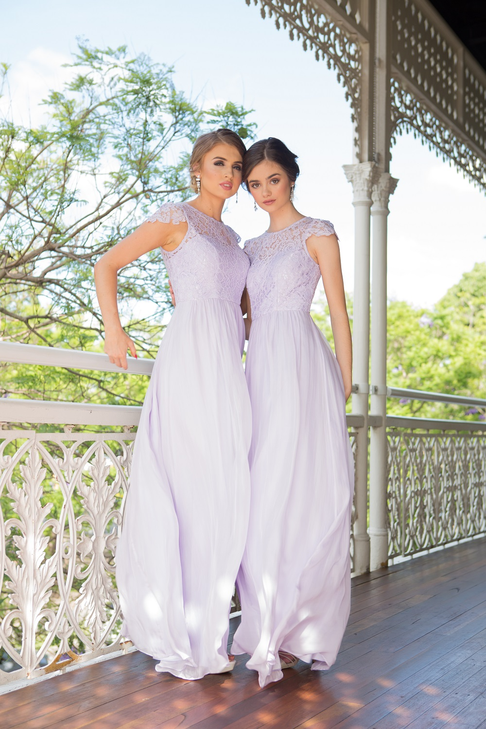 Latitia Bridesmaid Dress lilac
