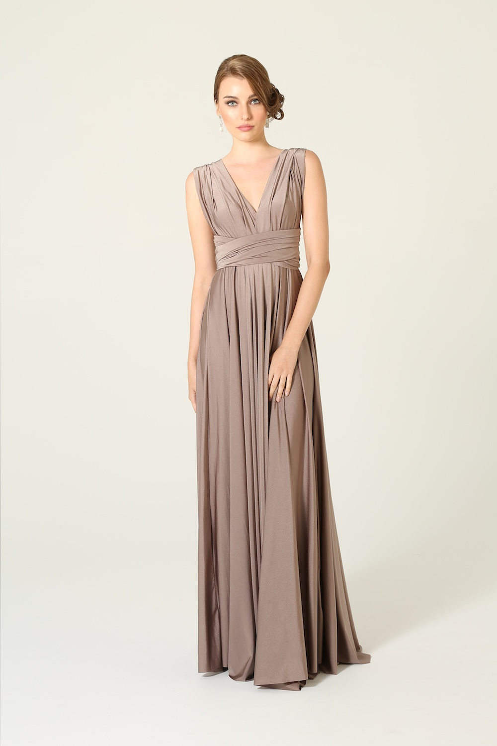 Bridesmaid Wrap Dress
