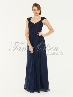 Willow Navy Bridesmaid Dress