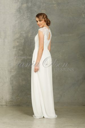 Camilla White Bridesmaid Dress