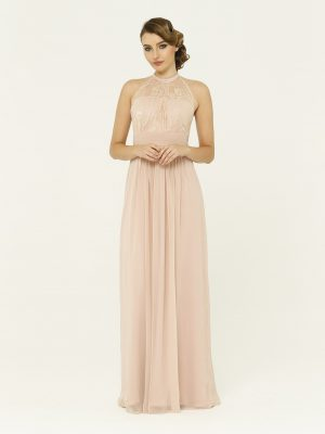 Harlow Blush Bridesmaid Dress