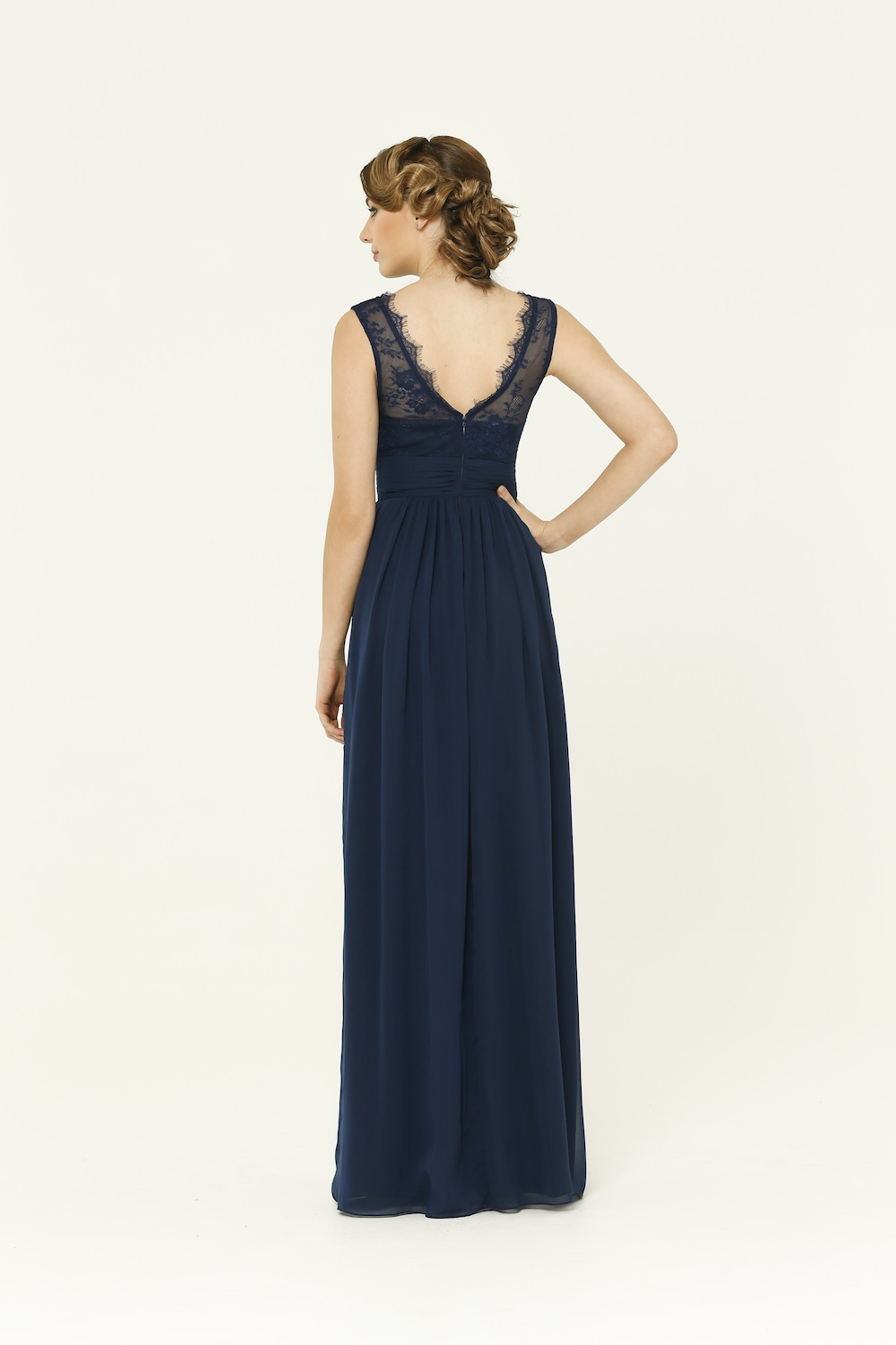 Charlotte Navy Bridesmaid Dress