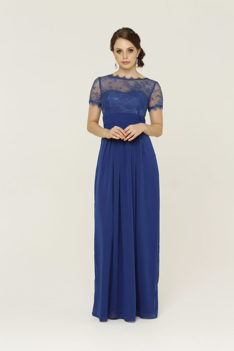 Olivia Cobalt Bridesmaid Dress