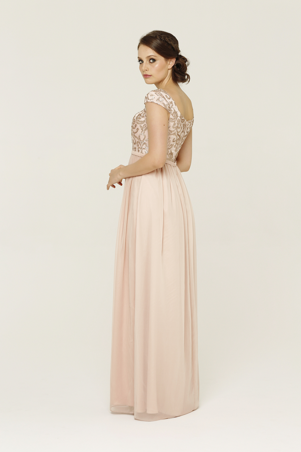 Amaia Blush Bridesmaid Dress