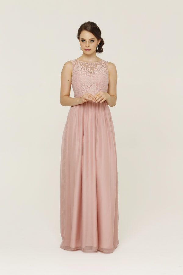 Pia Blush Bridesmaid Dress