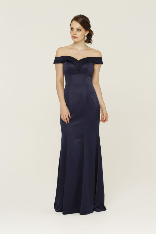 Ava Navy Formal Dress