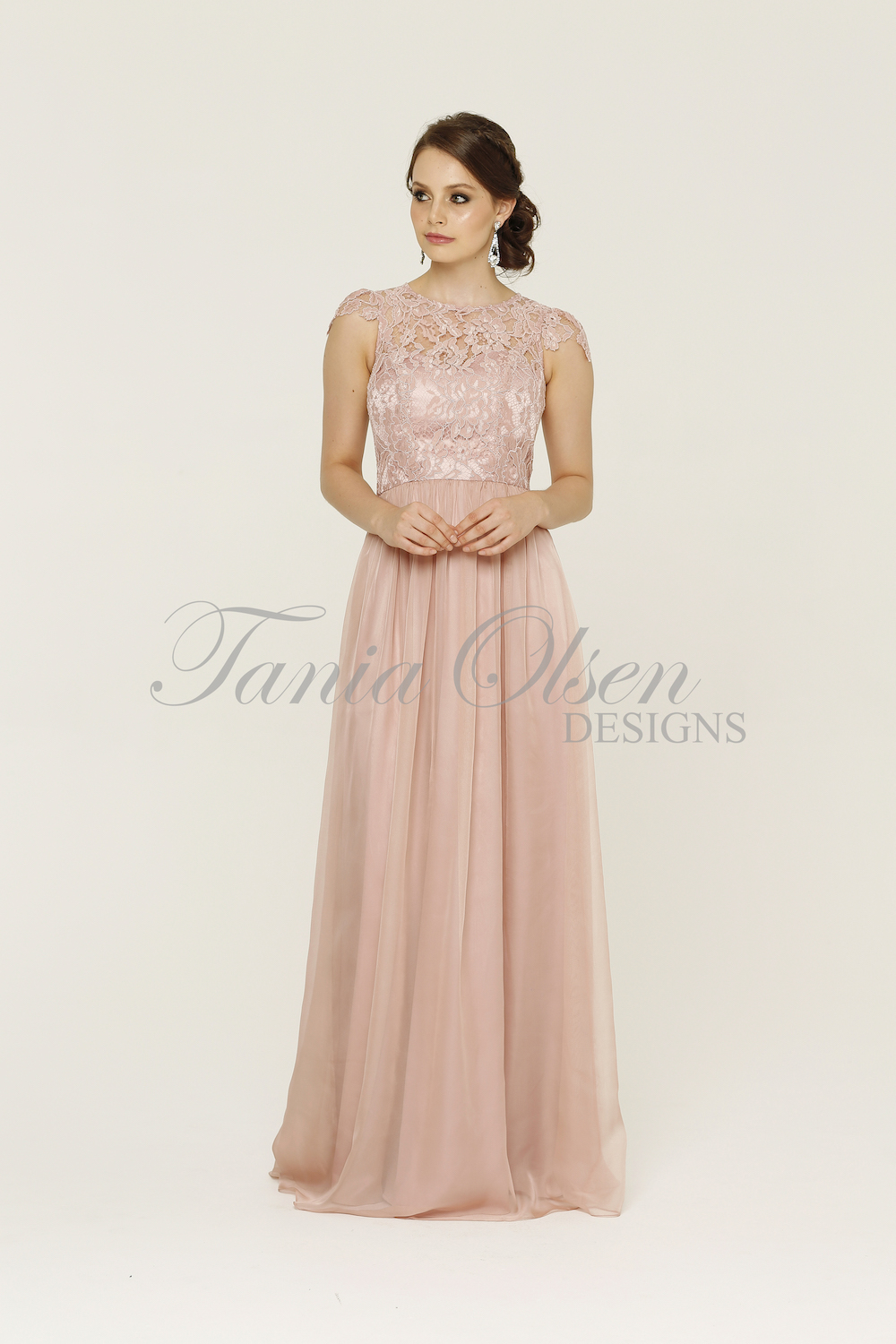 Latitia Bridesmaid Dress Blush