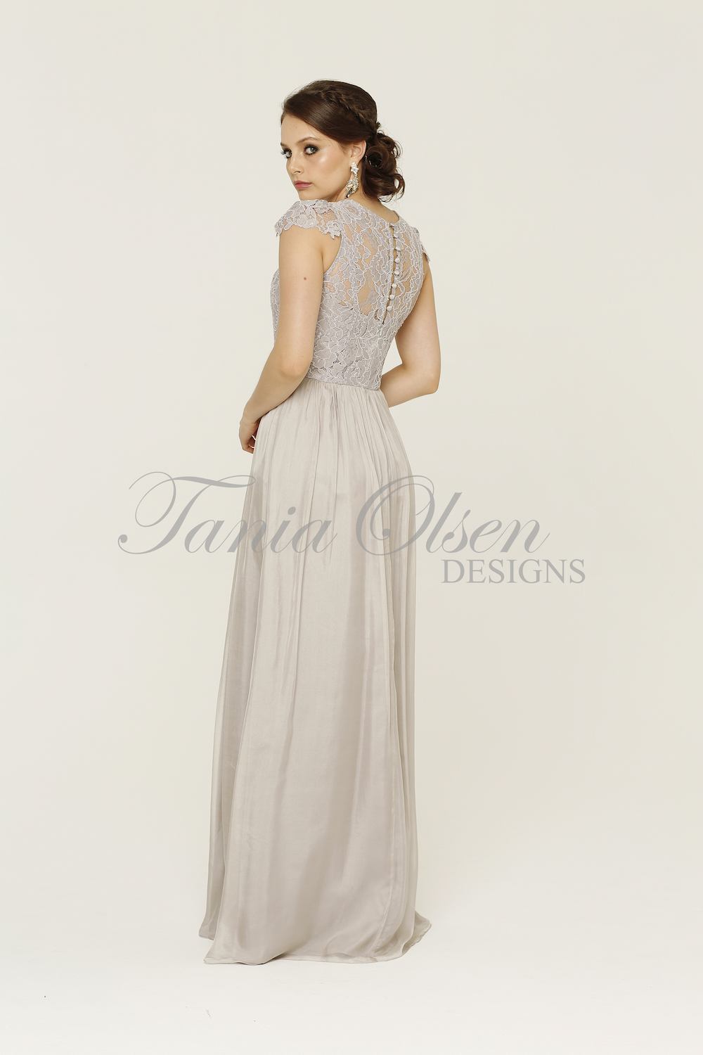 Latitia Bridesmaid Dress Dove