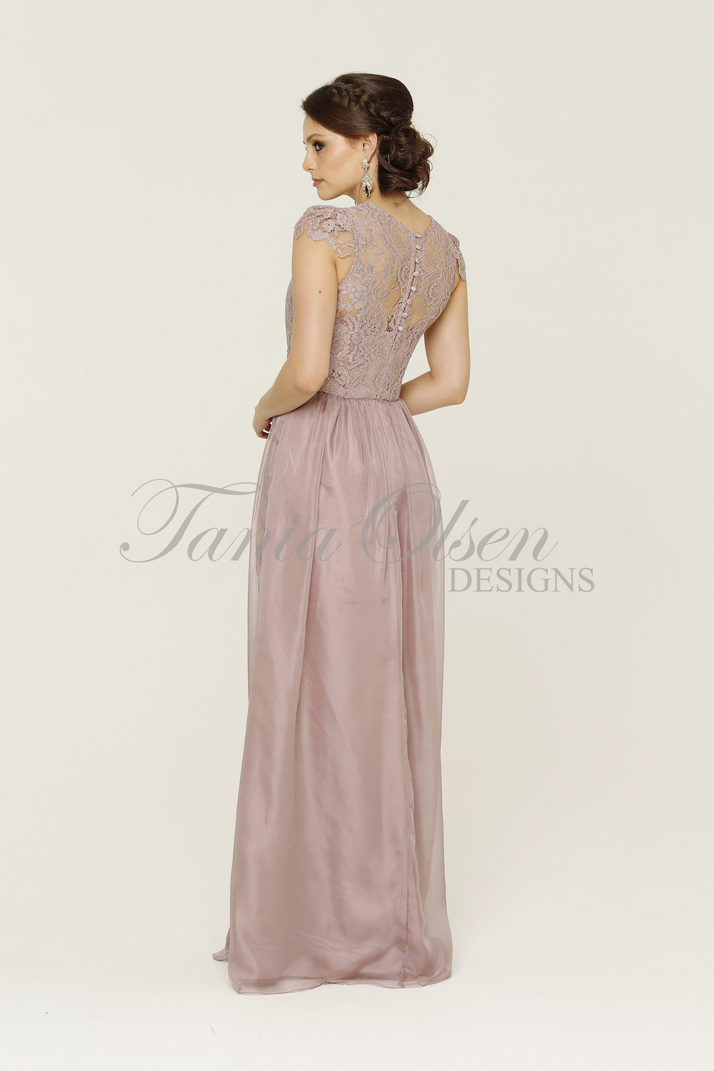 Latitia Bridesmaid Dress Oyster