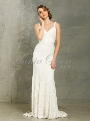 Mila White Wedding Dress