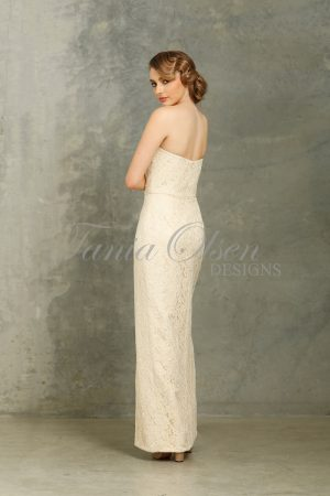 Veronica Cream Bridesmaid Dress