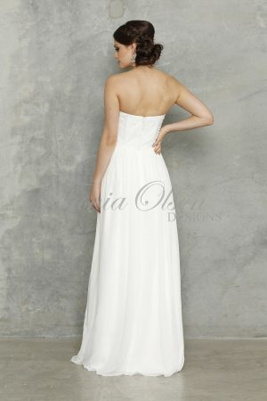 Tiffany White Wedding Dress
