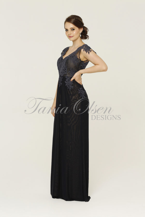 Chelsea Navy Formal Dress