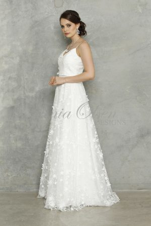 Stella White Wedding Dress